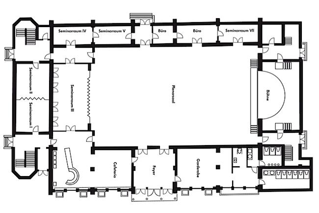 Grundriss Hotelfoyer : Tagungshotel in berlin brandenburg hotel christophorus